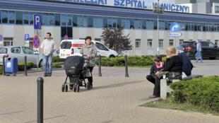 Un hôpital universitaire en Pologne.