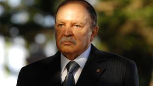Rais wa Algeria, Abdelaziz Bouteflika mwezi Disemba, 2011.
