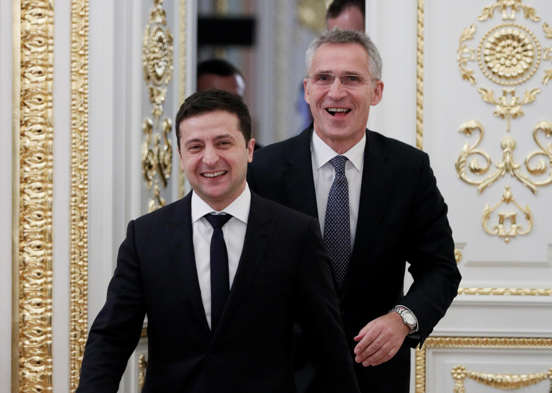 Shugaban Ukrain  Volodymyr Zelenskiy  lokacin ya ziyarci Amurka