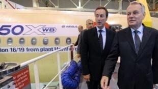 Fira Ministan Faransa a Toulouse yana wajen kaddamar da jirgin