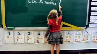12 million French pupils return to school for the new school year