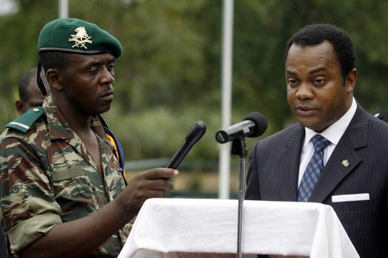 Donald Duke lorsqu'il était encore gouverneur de l'Etat de Cross River, au Nigeria, en 2006 (image d'archives).