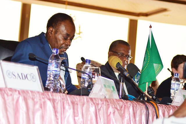 Edem Kodjo, mpatanishi wa mzozo wa kisiasa nchini DRC.