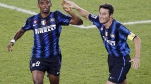 Jogadores do Inter de Milão