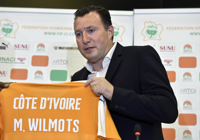 Côte d'Ivoire manager Marc Wilmots.