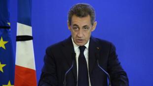 Николя Саркози в субботу, 14 ноября, выступает перед соратниками из партии «Республиканцы»