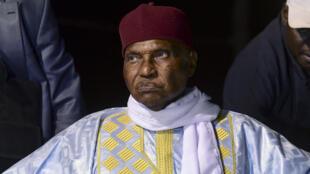 L'ex-président sénégalais Abdoulaye Wade.