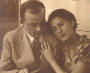 Antoine y Consuelo de Saint-Exupéry se casaron en la ciudad de Niza, en 1931.