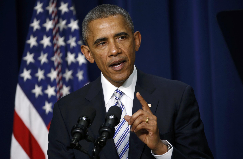 Tổng thống Mỹ Barack Obama phát biểu tại thượng đỉnh chống khủng bố, Washington, 18/02/2015