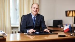 Паскаль Вагонь. Фото с сайта посольства Франции в Молдове.