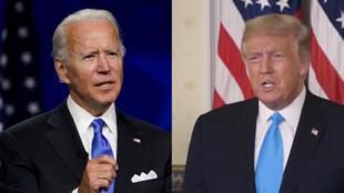 Primeiro debate estar terça-feira entre Joe Biden e Donald Trump.