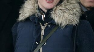 Florence Cassez en el aeropuerto Roissy (París), 24 de enero de 2013