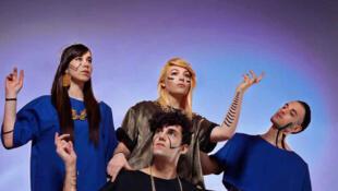 A leurs débuts, Line, Santa, Zacharie et Adam, d'Hyphen Hyphen, chantaient du punk dans le salon de leurs parents.