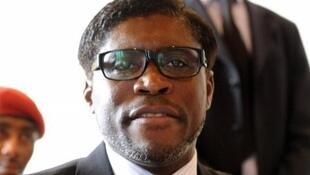 Teodorin Obiang, le 24 janvier 2012.