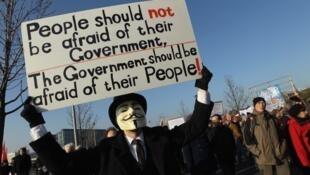 Créé en 2003-2004, le collectif des Anonymous se définit comme un mouvement d'«hacktivistes».
