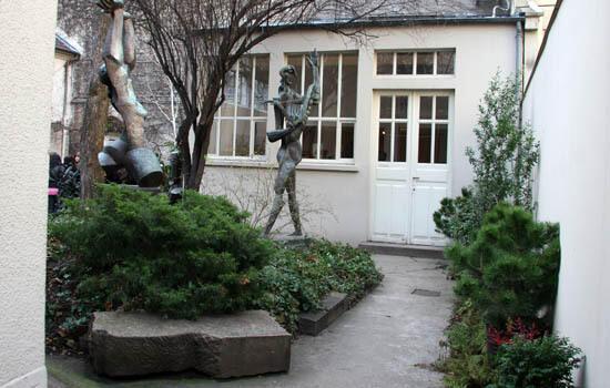 موزهZadkine   درمحلۀ ششم پاریس