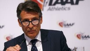 Sebastian Coe took over as IAAF president in August 2015.