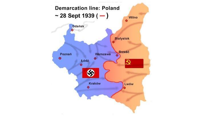 لهستان تقسیمشده، میان آلمان نازی و شوروی