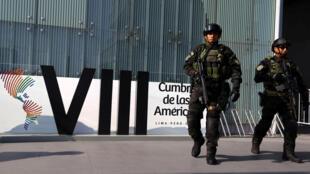Preparativos para a Cúpula das Américas, em Lima.