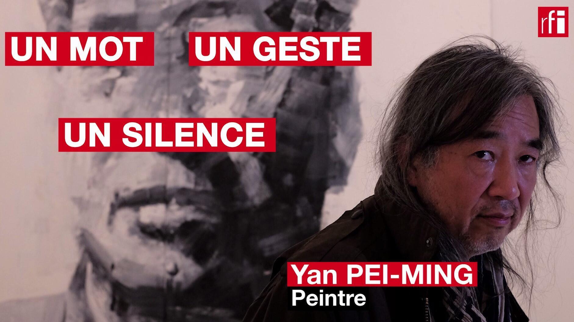 Le peintre Yan Pei-Ming en un mot, un geste et un silence