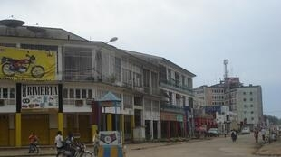 Une rue du centre-ville de Kisangani (photo d'illustration).