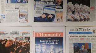 Diários franceses 19 11 2020