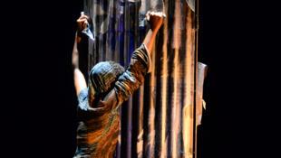 «Unwanted», création de Dorothée Munyaneza, présentée au Festival d'Avignon 2017 dans le cadre du Focus Afrique subsaharienne.