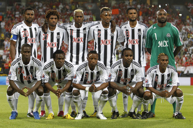Le onze de départ de Mazembe lors du Mondial des clubs en décembre