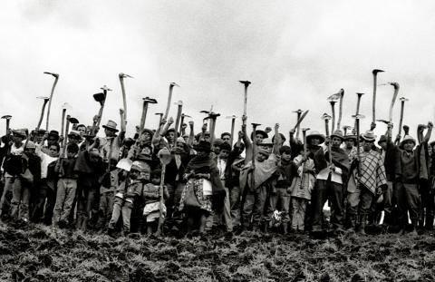 """""""Nuestra voz de tierra, memoria y futuro"""" a été tourné dans le Cauca, dans les années 70."""