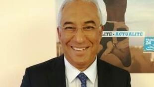 António Costa, líder do Partido Socialista português que concorre às eleições legislativas de 4 de outubro em Portugal.