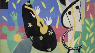 """""""A Tristeza do Rei"""", quadro pertencente ao museu Matisse, que comemora seus 50 anos."""