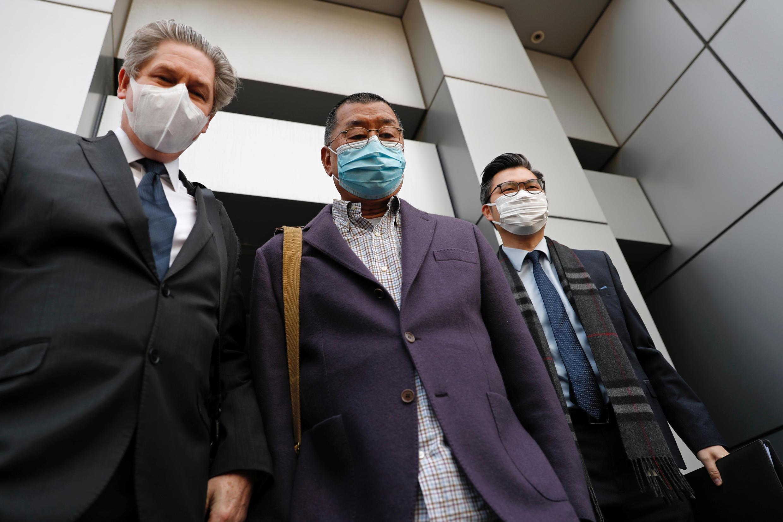 香港媒体大亨黎智英 2020年2月28日 Hong Kong: arrestation du magnat de la presse pro-démocratie Jimmy Lai au vendredi 28 février 2020