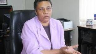 Marisa Morais ministra caboverdiana da administração interna in portaldeangola.com