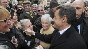 Sarkozy the candidate, in Annecy