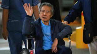 Alberto Fujimori en janvier 2018.
