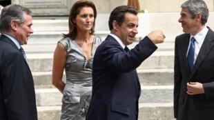 Nicolas Sarkozy Cécilia Attias 2007