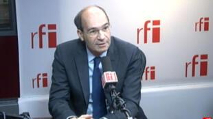 Eric Woerth, ancien ministre du Budget puis du Travail, député-maire UMP de Chantilly (Oise),