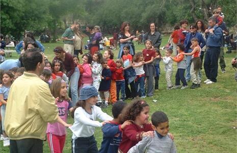 Escuela Max Rayne 'Mano a Mano' para la educaión judeo-árabe en Jerulén.