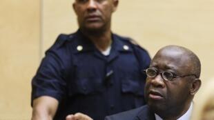 Laurent Gbagbo à la CPI.