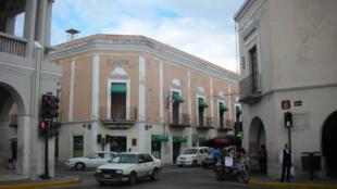 Une rue de Mérida, capitale du Yucatan