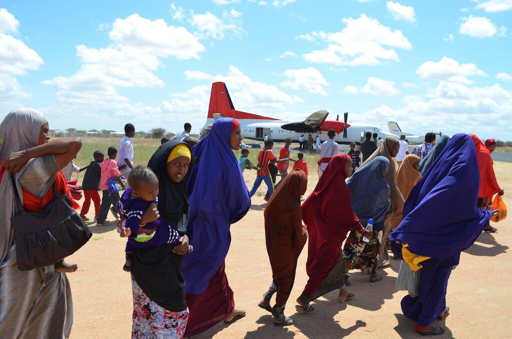 Sehemu ya wakimbizi wa Somalia walioa kurejea nyumbani kwa hiari.