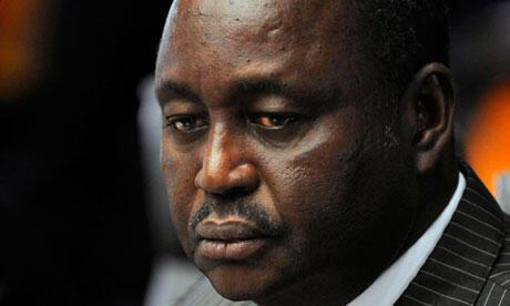 François Bozizé, le président déchu de la République centrafricaine.