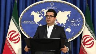 عباس موسوی، سخنگوی وزارت امور خارجه ایران