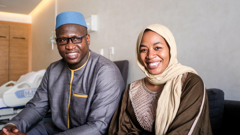 À la rencontre des nonuplés maliens, trois mois après leur naissance au  Maroc