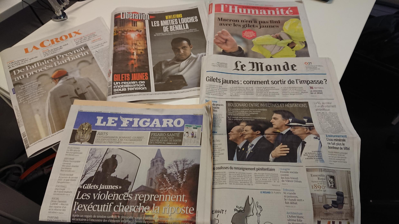 Diários franceses  07.01.2019