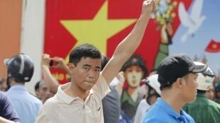 Biểu tình phản đối Trung Quốc ở Sài Gòn, 18/05/2014