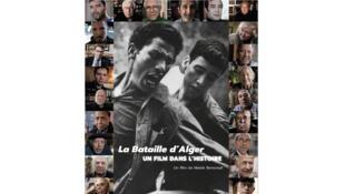 Affiche «La bataille d'Alger, un film dans l'histoire», de Malek Bensmaïl.