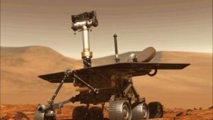 """任务原来只有90天,但是自2004年以来,""""机遇号""""独自""""在火星上徘徊。"""
