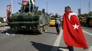 Fracassa tentativa de golpe na Turquia