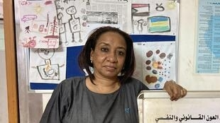 Dr Nahid Jibrallah, founder and director of SEEMA, a group dedicated to helping women and children